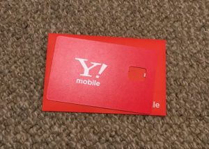 Y!mobile SIM Card